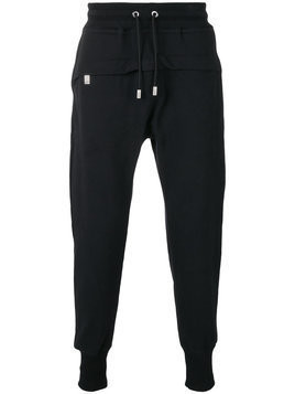 Blood Brother drawstring track pants - Black