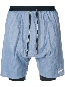 Nike crinkle running shorts - Blue