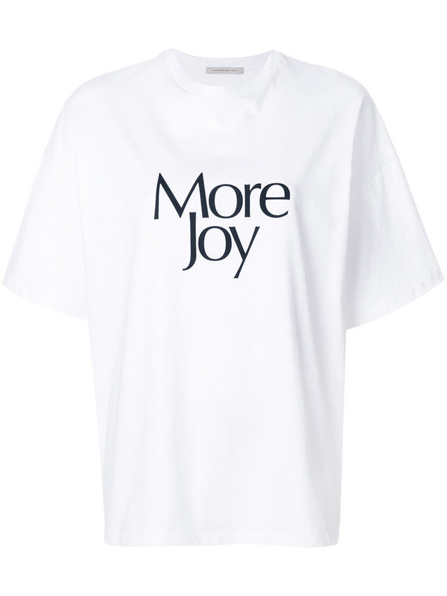 Christopher Kane 'More Joy' t-shirt - White