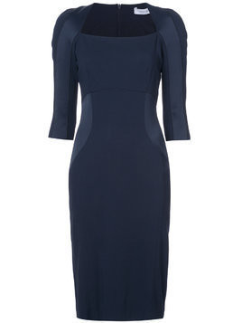 Kimora Lee Simmons MMA elbow sleeve dress - Blue