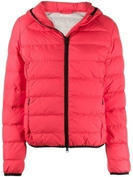 Ecoalf Gajka puffer jacket - Red
