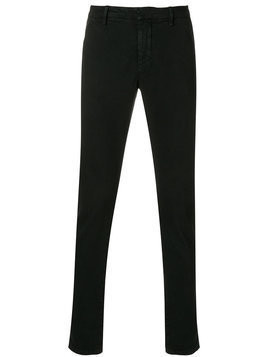 Dondup - tailored fitted trousers - Herren - Cotton/Elastodiene - 33 - Black