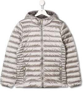 Ciesse Piumini Junior padded logo jacket - Silver