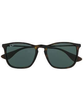 Ray-Ban Chris square frame sunglasses - Brown