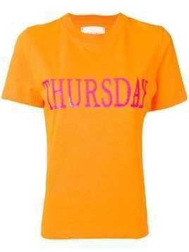 Alberta Ferretti Thursday T-shirt - Orange