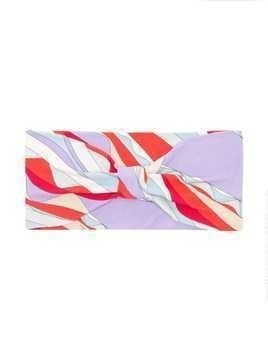 Emilio Pucci Junior graphic headband - Red