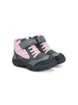 Geox Kids mesh ankle boots - Purple