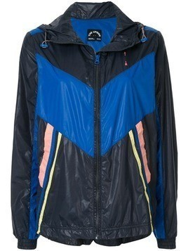 The Upside colour block hooded jacket - Blue
