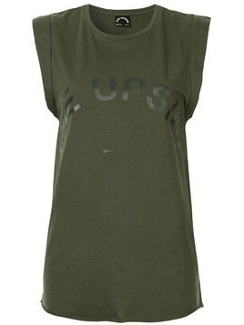 The Upside printed logo tank top - Green
