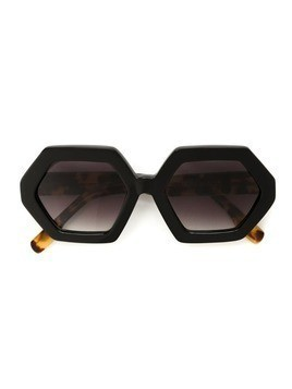 Mara Mac geometric sunglasses - Black