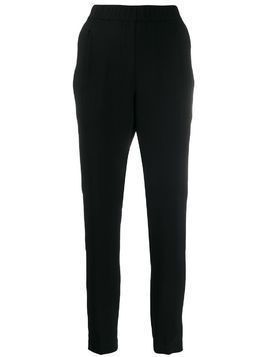 Fabiana Filippi elasticated waist trousers - Black