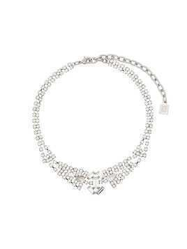 Dannijo Mimosa Embellished Choker Necklace - Metallic