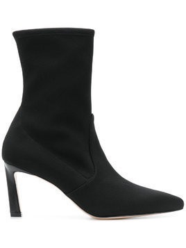 Stuart Weitzman pointed toe ankle boots - Black