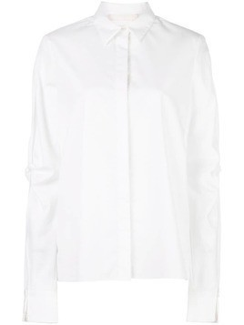 Dion Lee knot sleeve shirt - White