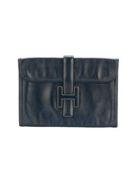 Hermès Pre-Owned Jige clutch - Blue