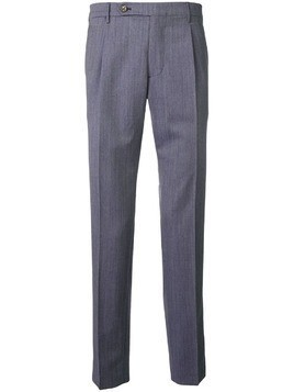 Berwich straight leg trousers - Blue