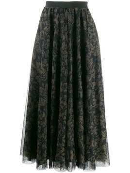 Essentiel Antwerp Vroom Vroom pleated skirt - Green