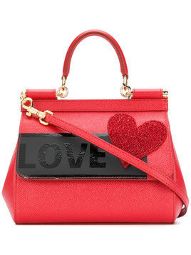 Dolce & Gabbana mini Sicily tote bag - Red