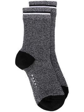 Marni speckled knit socks - Grey