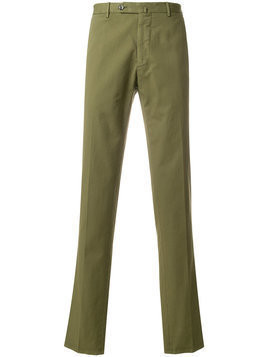 Biagio Santaniello slim trousers - Green