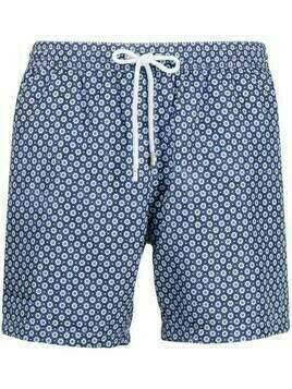 Barba floral swim shorts - Blue