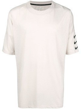 Nike Rise 365 running top - White