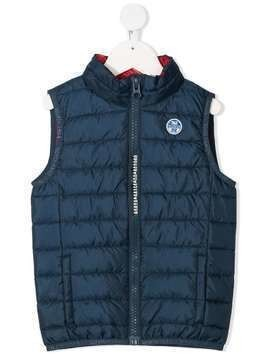 North Sails Kids Skye 2 padded gilet - Blue