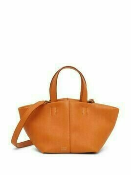 Mansur Gavriel Mini Tulipano leather bag - Orange