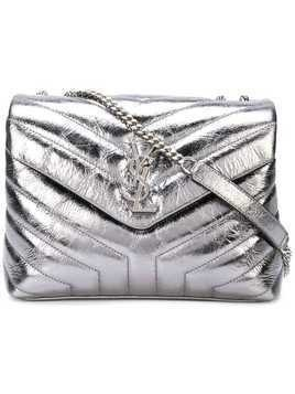 Saint Laurent small LouLou chain bag - Grey