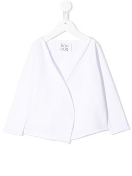 Douuod Kids light white cardigan