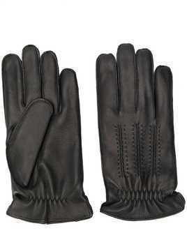 Orciani stitching detail gloves - Black
