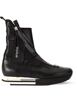 Artselab hi-top sneakers - Black