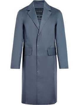 Mackintosh 0003 Grey Bonded Cotton 0003 Pocket Vent Coat