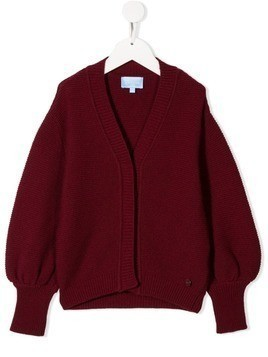 Lanvin Enfant v-neck cardigan - Red