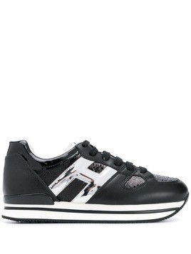 Hogan H logo sneakers - Black