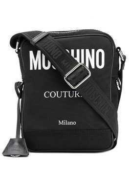 Moschino 'Moschino Couture!' messenger bag - Black