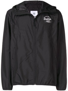 Herschel Supply Co. hooded zip wind breaker - Black