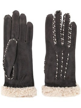 Agnelle Marielouise gloves - Grey