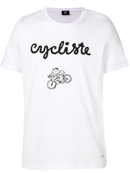 Ps By Paul Smith - Cycliste T-shirt - Herren - Organic Cotton - XXL - White