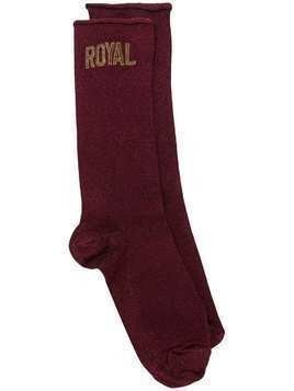 Dolce & Gabbana 'Royal' socks - Red