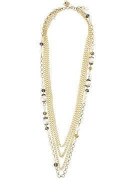 Edward Achour Paris multi-chain necklace - GOLD