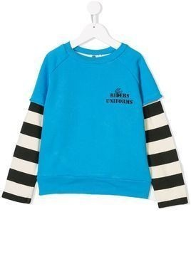 Bandy Button Angel sweatshirt - Blue