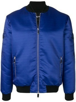 Blood Brother embroidered bomber jacket - Blue