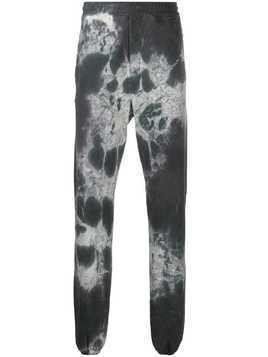 Buscemi Bad Dye-print track pants - Grey
