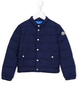 Moncler Kids padded jacket - Blue