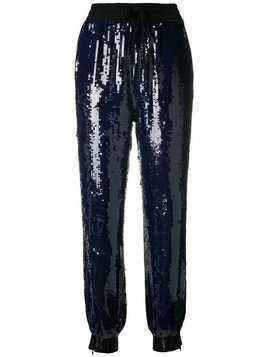 Hilfiger Collection sequin embellished track pants - Blue