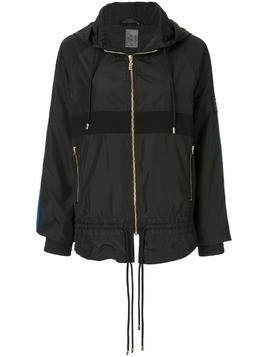 P.E Nation Man Up hooded jacket - Black