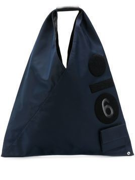 Mm6 Maison Margiela medium Japanese number tote - Blue
