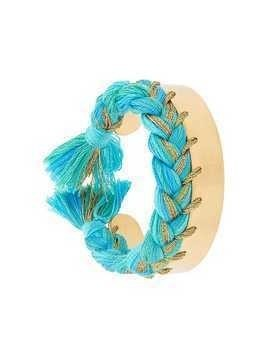 Aurelie Bidermann Copacabana thin bracelet - Blue