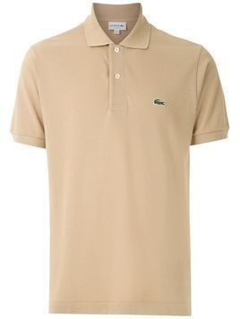 Lacoste small logo polo shirt - Neutrals